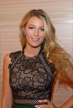 """Blake Lively. #BlakeLively. """"View every piece of coal as the potential diamond in rough. Goodness and Beauty do exist in every being."""" - Deodatta V. Shenai-Khatkhate."""