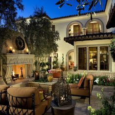 California mediterranean style homes