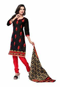 Fabdeal Indian Designer Black Chanderi Silk Embroidery Salwar Kameez Fabdeal, http://www.amazon.de/dp/B00IL78K2E/ref=cm_sw_r_pi_dp_xE8otb0FQDDPF