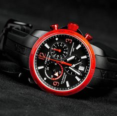 Red Watches, Watches For Men, Omega Watch, Clocks, Accessories, Jewelry, Unique Watches, Man Watches, Bijoux