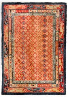 Chinese Oriental Rug from Woven Accents