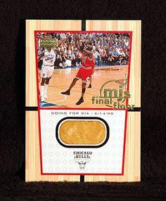 Michael Jordan Final Shot 1999-2000 Upper Deck Final Floor Jumbo Card FF1