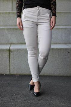 5Units - Jolie Smoky Day White Jeans, Pants, Fashion, Moda, Trousers, Fashion Styles, Women Pants, Women's Pants, Fashion Illustrations