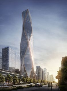 Gallery of SOM Unveils Images of Striking Mixed-Use Tower in Hangzhou, China - 7