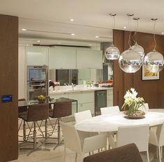 Cozinha integrada por Hidelbrand Silva #kitchen #homedecor #decoração #cozinhaintegrada #cozinhamoderna