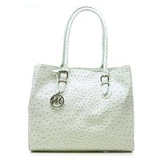 Emilie M. Nicole Ostrich Tote in Mint Green | Must Have Bag  4/10/13-4/17/13