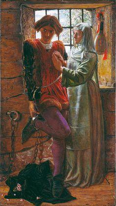 William Holman Hunt - Claudio and Isabella
