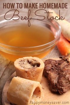 Making Homemade Chicken & Beef Stock - So Easy it Should be a Crime! - Happy Money Saver