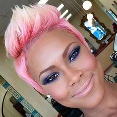 style by – communityblackha… - Black Haircut Styles American Hairstyles, Hairstyles Haircuts, Cool Hairstyles, Black Hairstyles, Black Haircut Styles, Haircut Styles For Women, Short Sassy Hair, Short Hair Cuts, Corte Y Color