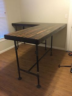 DIY Custom Standing Desk