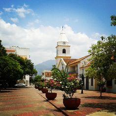 Plaza Alfonso López en Valledupar, Cesar. Colombia