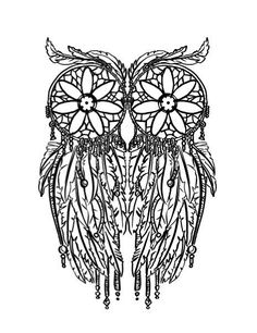 dream catcher coloring pages - Google Search