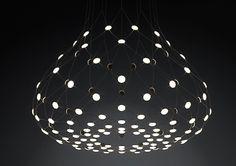 Mesh by Luceplan, design by Francisco Gomez Paz.