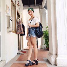 summer outfit jenn im