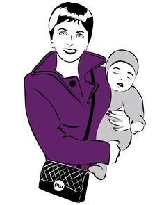 Illustration maman