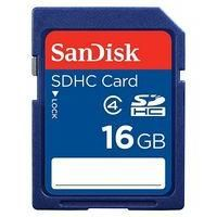 SANDISK-COMPUTER COMPONENTS-Memory-SanDisk SDHC Memory Card- 16GB-£17.49-68 Advantage card points. SanDisk 16GB SDHC blue SD memory card are designed for high resolution Digital Cameras. New SDHC cards ensure the best quality. FREE Delivery on orders over 45 GBP.