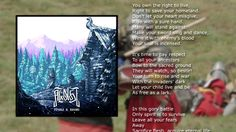 Alkonost - War is Closed by Us [Lyric Video] Save Yourself, Your Heart, Incense, Itunes, Singing, Lyrics, War, Let It Be, How To Make