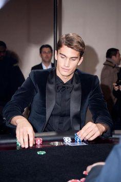 """Me in a casino. And by me i mean I'd totally be wearing this.""  Tomas Guarracinofor SmaltoParis Fashion Week F/W 2013-14"