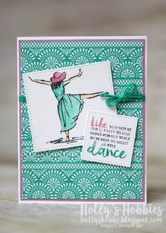 Beautiful You - Emerald Envy by HollysHobbies - Cards and Paper Crafts at Splitcoaststampers