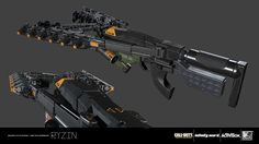 Weapon created for Call of Duty: Infinite Warfare. These weapons were an amazing experience to work on alongside the incredibly talented weapons team at IW. Design - IW Weapons Team Blockout - IW Weapons Team High Poly Model - RYZIN Game Model UVs - RYZIN