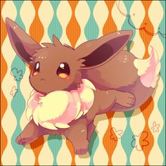 Eevee by ぱてこ