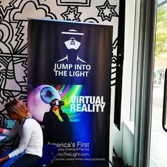 Interested in VIRTUAL REALITY? Come by @jumpintothelightnow for a dose of VR, ask our knowledgeable team about tech and devices! Photo by @charlieoliverbk #digital #NYC #technology #startup #development #tech #newtech #dev #vr #virtualreality #vrcinema #vrplaylab #arcade #games #fun...