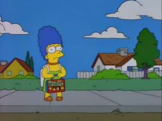 Little Marge with a Monkee's Lunchbox