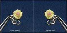 Ear Cuff Nose cuff Tragus cuff Rose ear cuff by artstudio88