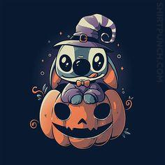 Ohana Pumpkin from ShirtPunch Halloween Wallpaper Iphone, Disney Phone Wallpaper, Cartoon Wallpaper Iphone, Cute Cartoon Wallpapers, Disney Halloween, Halloween Shirt, Cute Disney Drawings, Cute Drawings, Lilo And Stitch Quotes