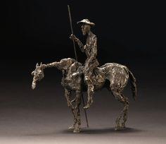 Deborah van der Beek Don Quixote Maquette bronze (ed. of 7) 30 cm high