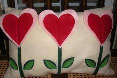 cuscini fiore cuore