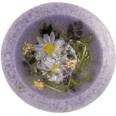 Lavender and Chamomile Scented Flameless Decorative Candle - 7