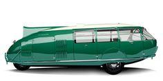 Boat? Beetle van?  Buckminster Fuller wheels?