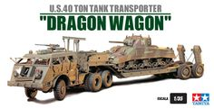 Tank Transporter Dragon Wagon. I was assistant driver on this vehicle in Ft. Bragg, N.C.