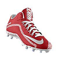 wholesale dealer 3e675 4efe5 I designed the cardinal red Arizona Cardinals Nike football shoe with black  and white trim.