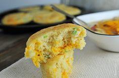 Cheddar Jalapeno Cornbread Muffins Recipe - Cooking   Add a Pinch