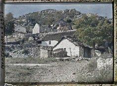 Cetinje, Monténégro, 23 octobre 1913, Autochrome d'Auguste Léon  © Musée Albert-Kahn -