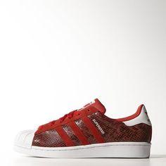 Tênis Superstar Feminino - Vermelho adidas | adidas Brasil