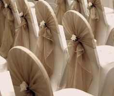 rolls of twine used with chair wraps - Google Search                                                                                                                                                                                 More