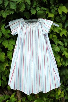 girls dress made from mens shirts