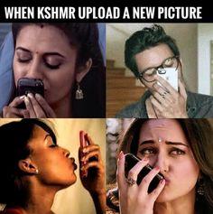 Or when he has a new story #kshmr #kshmrfam #meme #gracethekshmrfan