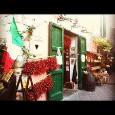 Italian shop in Forio, Ischia (Italia)