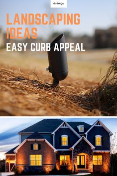 DIY Outdoor Landscape Lighting Curb Appeal Ideas DIY to… – garden garage ideas