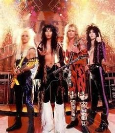 Inside the Electric Circus:Johnny Rod – bass Blackie Lawless - guitars-vocals Chris Holmes – guitar Steve Riley – drums Glam Metal, Nu Metal, 80s Rock Bands, 80s Hair Bands, Blues Rock, Hard Rock, Rock N Roll, Music Pics, Gothic Rock