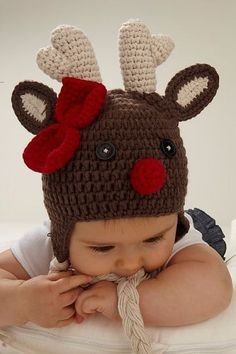 Infant's Hand Crochet Snowman Hat by viv & joe, the perfect gift for Explore more unique gifts in our curated marketplace. Crochet Christmas Hats, Crochet Snowman, Crochet Kids Hats, Holiday Crochet, Cute Crochet, Crochet Crafts, Hand Crochet, Crochet Projects, Knitted Hats