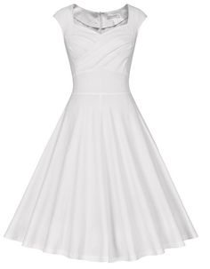 online shopping for MUXXN Women's Retro Vintage Cap Sleeve Party Swing Dress from top store. See new offer for MUXXN Women's Retro Vintage Cap Sleeve Party Swing Dress 50s Dresses, Dresses Online, Evening Dresses, Party Dresses, Short Dresses, Vintage Outfits, Vintage Dresses, Vintage Clothing, White Dresses For Women