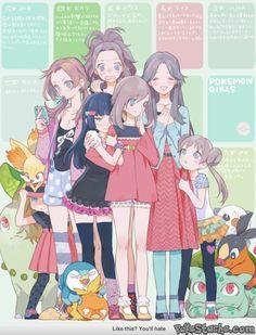 Pokemon Girls!