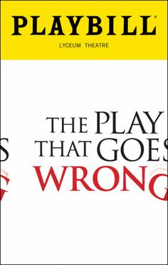 The Play That Goes Wrong. Omg hysterical! Saw it 3/29/17.