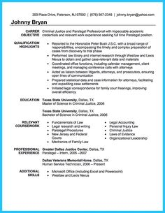 awesome arranging a great attorney resume sample - Criminal Justice Resume