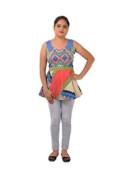 RP boutoique Multi Color Cotton Strechable western Kurti ... http://www.amazon.in/dp/B01MA5SF4K/ref=cm_sw_r_pi_dp_x_wXWeyb1KS7WFX